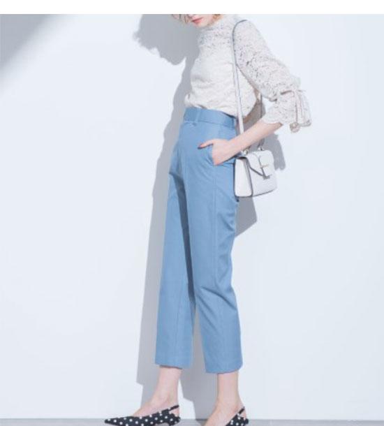 Mila Owen(ミラ オーウェン)ふんわり袖のレースブラウス画像1b
