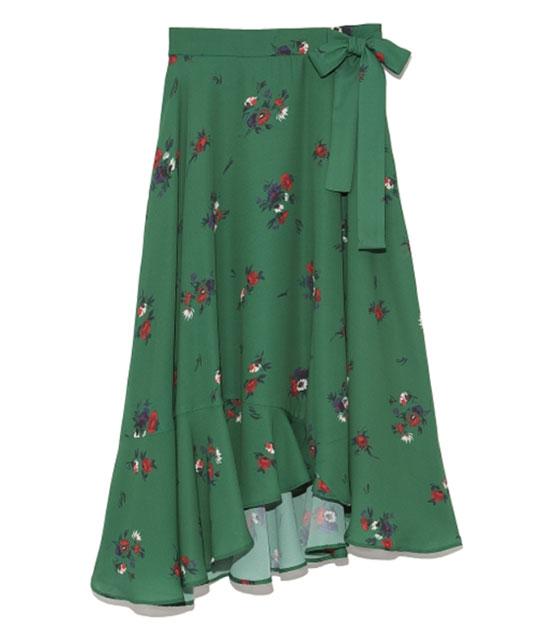 ミモレ丈・ロング丈のフレアースカート・Mila Owen (ミラ オーウェン)画像1b