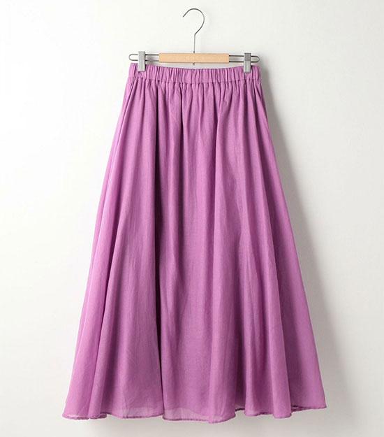 大人のピンクコーデ・coen(コーエン)のスカート画像1b