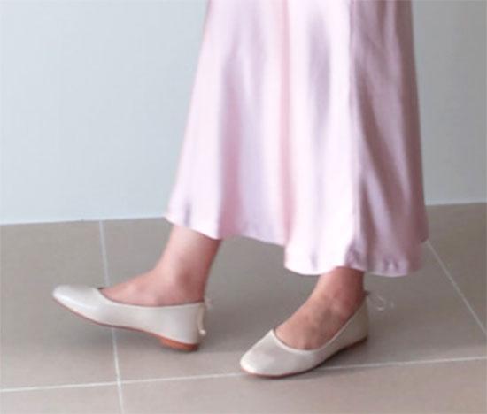 大人のピンクコーデ・ストーリーナインのスカート画像1b