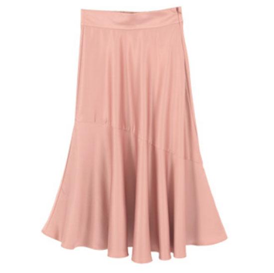 大人のピンクコーデ・titivate(ティティベイト)のスカート画像1b
