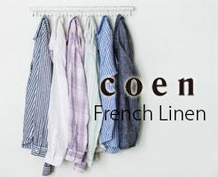 COEN(コーエン)のフレンチリネン服・サムネイル画像