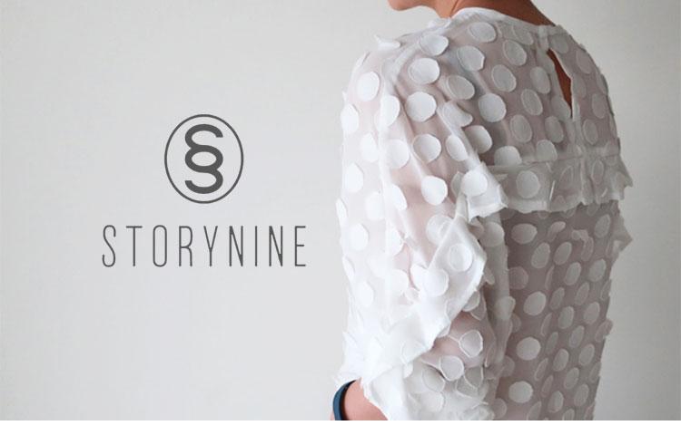STORYNINE(ストーリーナイン)購入レビュー・透け感ドットブラウス・トップ画像2
